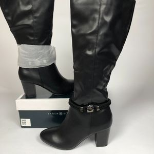 Karen Scott Galee Boots Black 7.5M